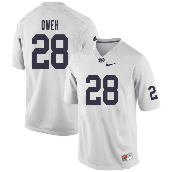 Men #28 Jayson Oweh Penn State Nittany Lions College Football Jerseys Sale-White