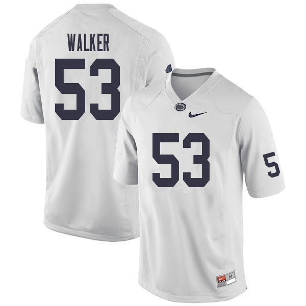 Men #53 Rasheed Walker Penn State Nittany Lions College Football Jerseys Sale-White