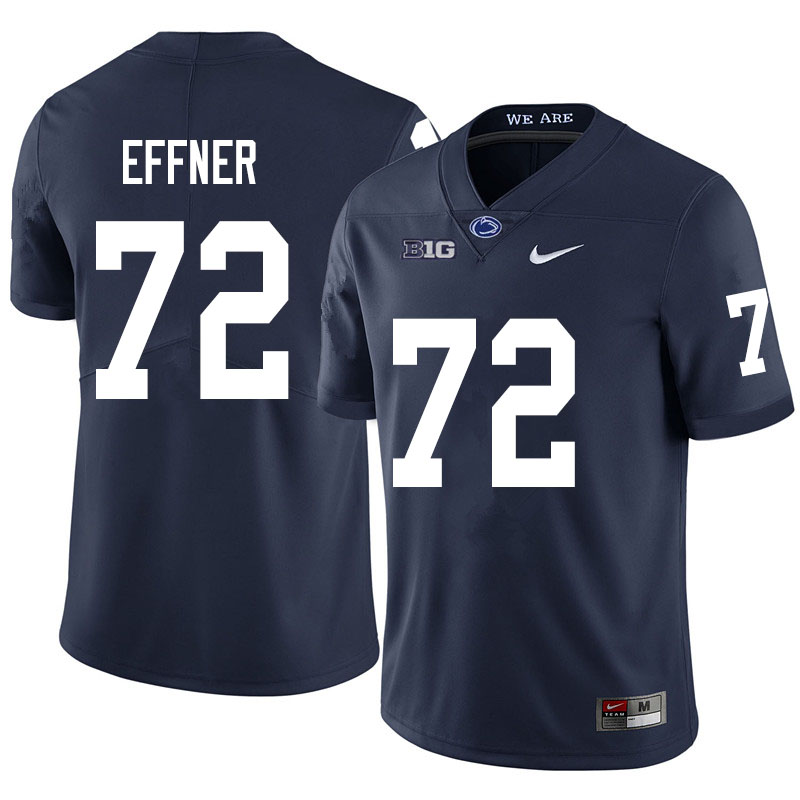 Men #72 Bryce Effner Penn State Nittany Lions College Football Jerseys Sale-Navy