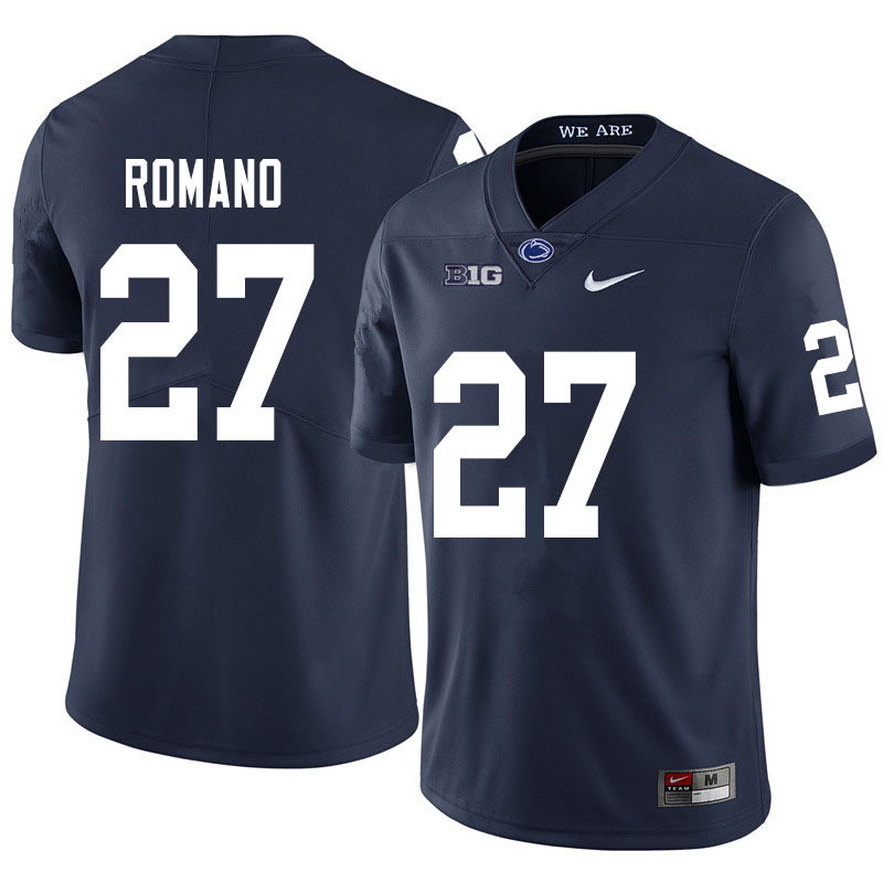 Men #27 Cody Romano Penn State Nittany Lions College Football Jerseys Sale-Navy