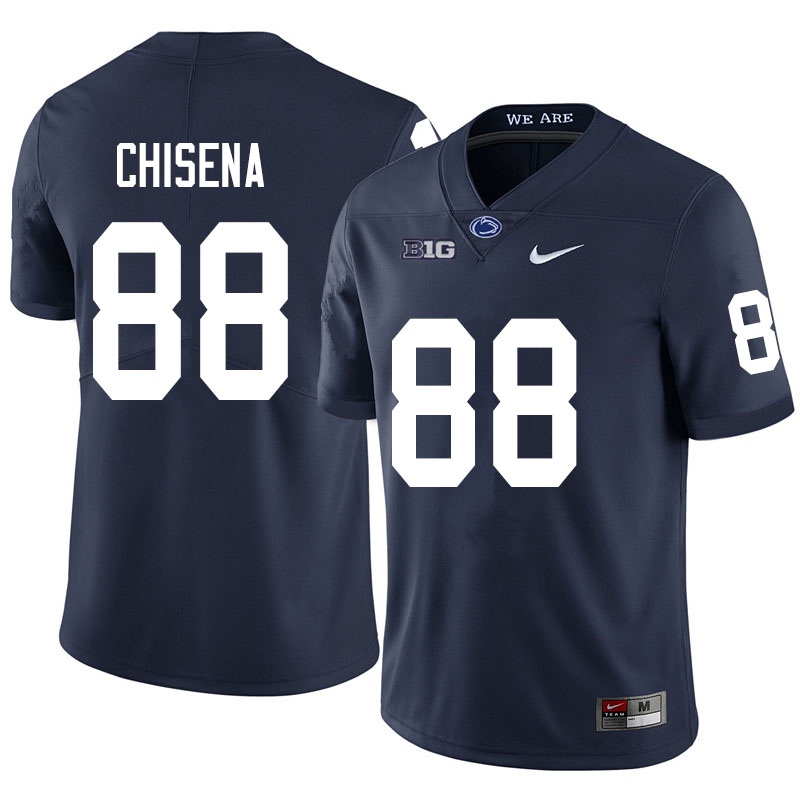 Men #88 Dan Chisena Penn State Nittany Lions College Football Jerseys Sale-Navy