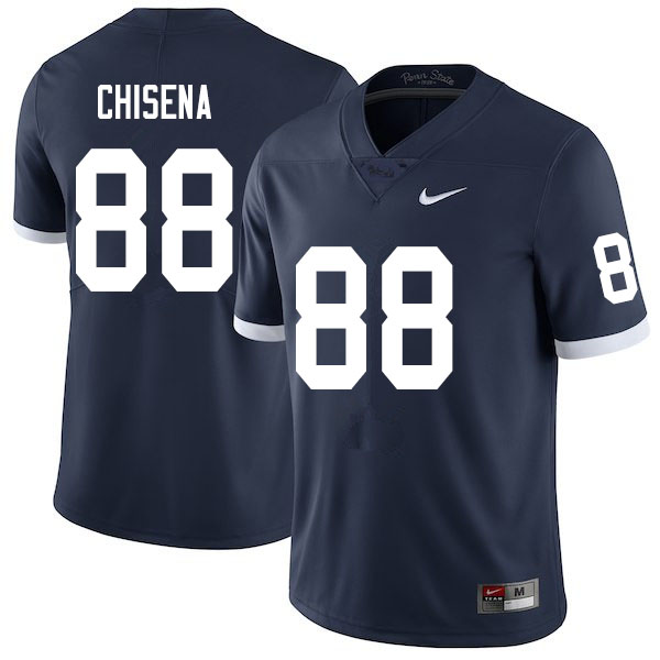 Men #88 Dan Chisena Penn State Nittany Lions College Throwback Football Jerseys Sale-Navy