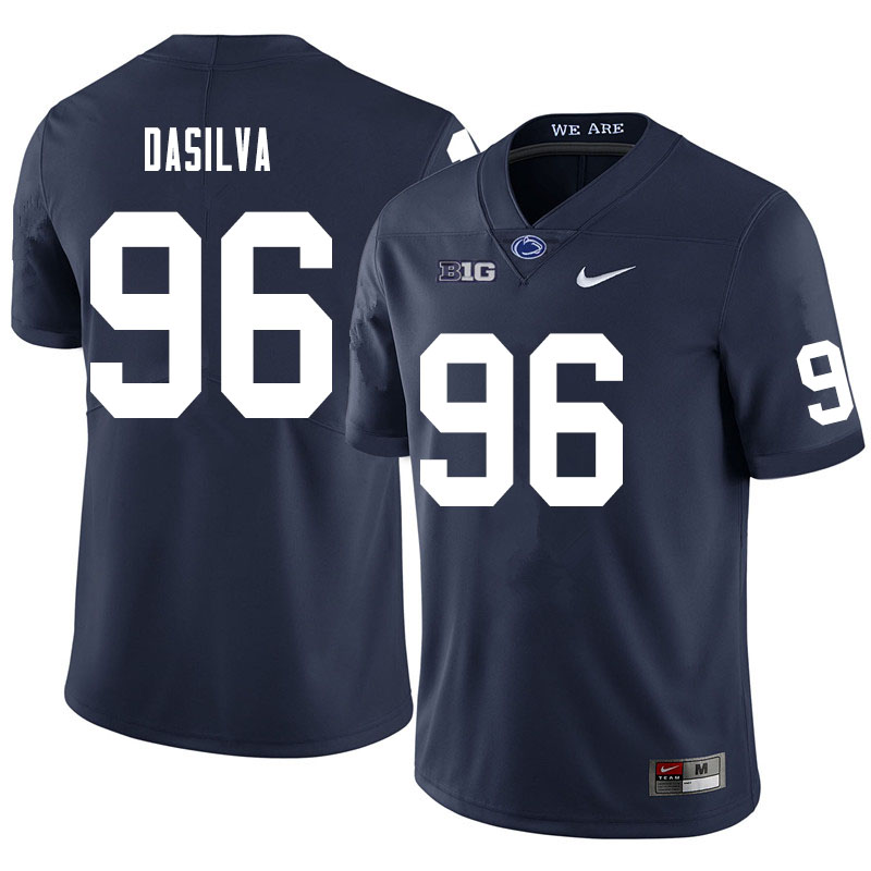 Men #96 Anthony DaSilva Penn State Nittany Lions College Football Jerseys Sale-Navy