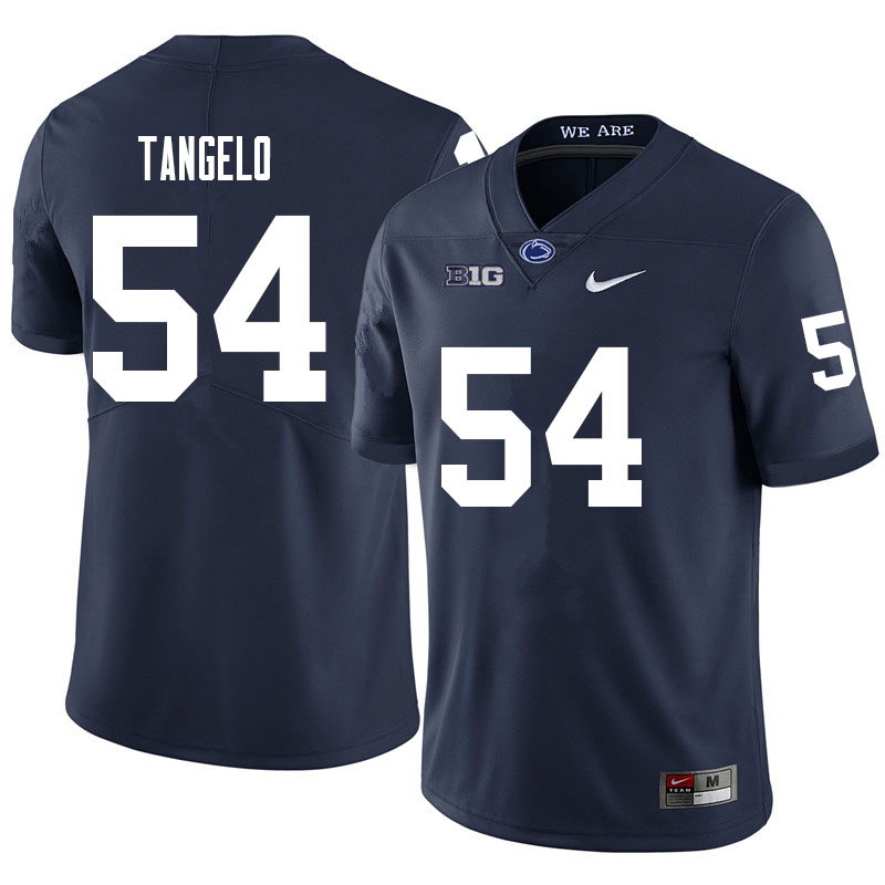 Men #54 Derrick Tangelo Penn State Nittany Lions College Football Jerseys Sale-Navy