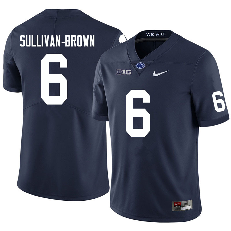 Men #6 Cam Sullivan-Brown Penn State Nittany Lions College Football Jerseys Sale-Navy