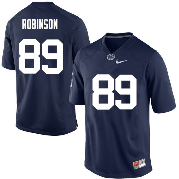 Men Penn State Nittany Lions #89 Dave Robinson College Football Jerseys-Navy