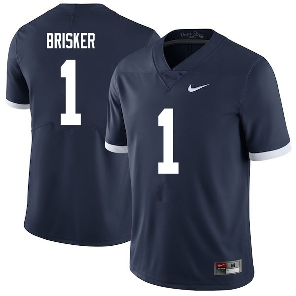 Men #1 Jaquan Brisker Penn State Nittany Lions College Football Jerseys Sale-Retro