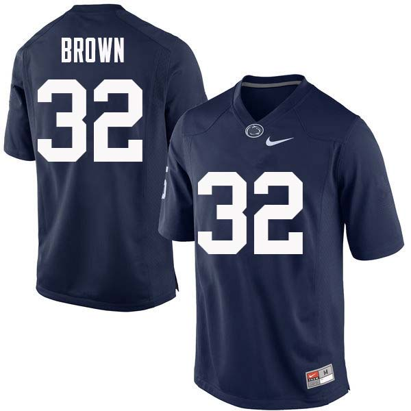 Men #32 Journey Brown Penn State Nittany Lions College Football Jerseys Sale-Navy