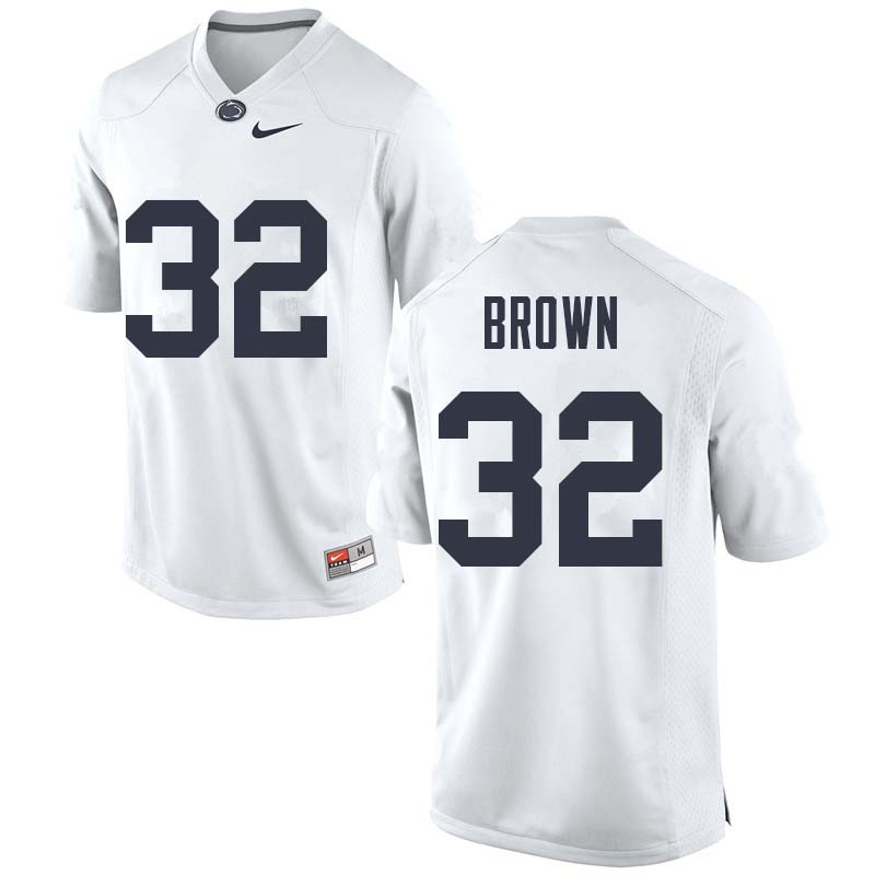 Men #32 Journey Brown Penn State Nittany Lions College Football Jerseys Sale-White