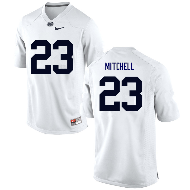 Men Penn State Nittany Lions #23 Lydell Mitchell College Football Jerseys-White