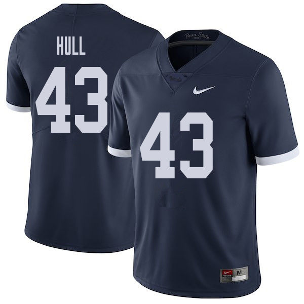 Men #43 Mike Hull Penn State Nittany Lions College Throwback Football Jerseys Sale-Navy