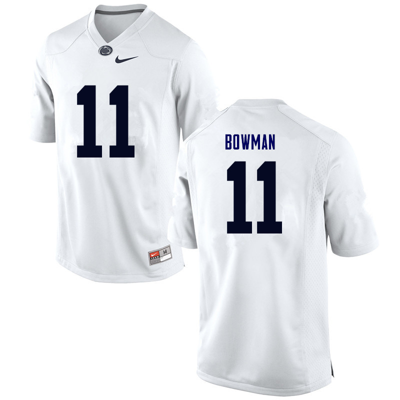 Men Penn State Nittany Lions #11 NaVorro Bowman College Football Jerseys-White