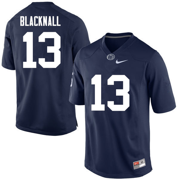 Men Penn State Nittany Lions #13 Saeed Blacknall College Football Jerseys-Navy