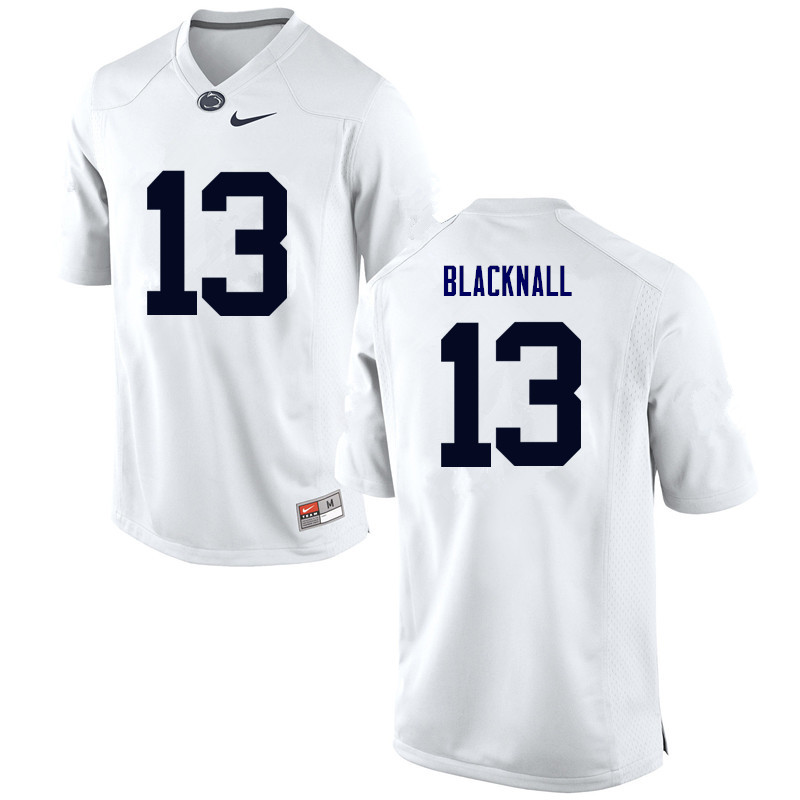 Men Penn State Nittany Lions #13 Saeed Blacknall College Football Jerseys-White