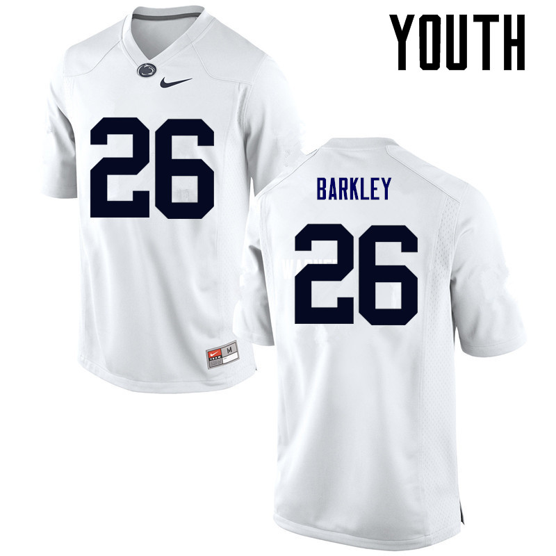 quality design 6f0c2 a77f1 Youth Penn State Nittany Lions #26 Saquon Barkley College ...