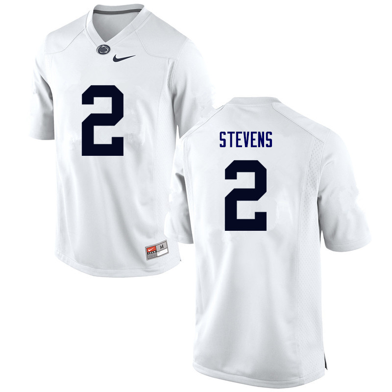 Men Penn State Nittany Lions #2 Tommy Stevens College Football Jerseys-White