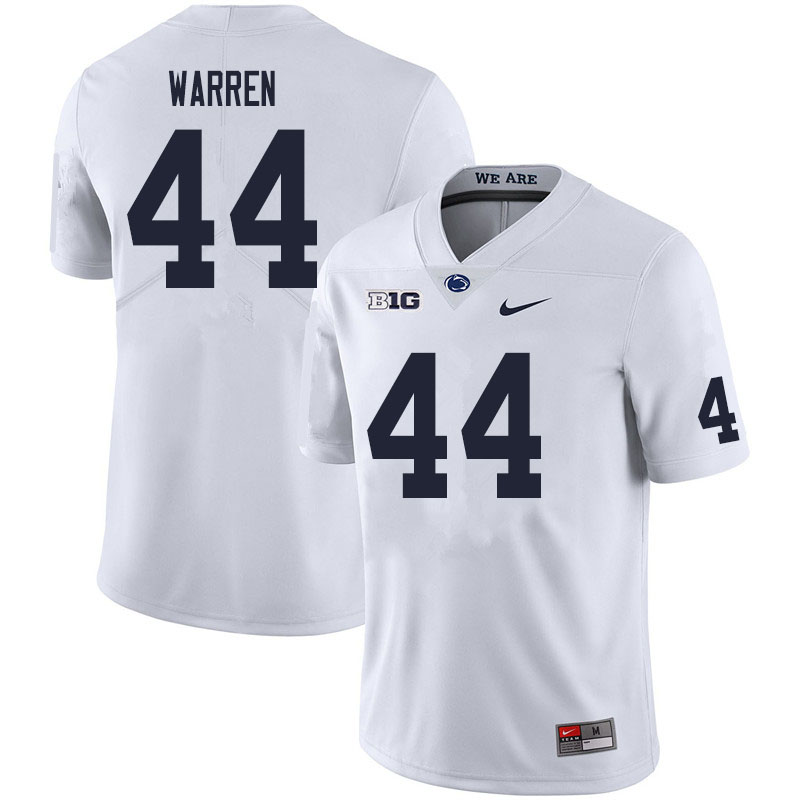 Men #44 Tyler Warren Penn State Nittany Lions College Football Jerseys Sale-White