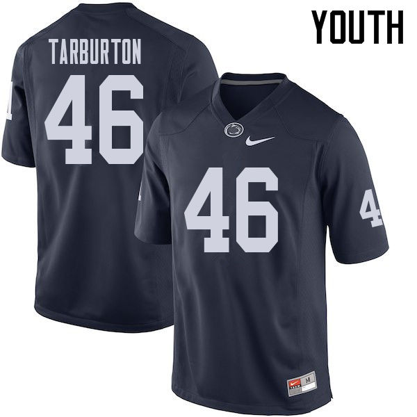 Youth #46 Nick Tarburton Penn State Nittany Lions College Football Jerseys Sale-Navy